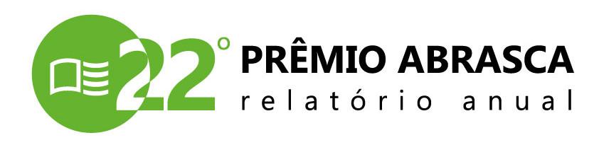 Logotipo 22º Prêmio Abrasca - Relatório Anual